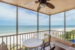 Estero Island Beach Villas 606 Fort Myers Beach Accommodations Florida FL Beachfront Condo Vacation Rental with Heated Pool BBQ Grills Screened Lanai 1-877-BEACH-IT