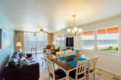Beach Villas #606 | Overlook Matanzas Pass and Gulf of Mexico with Double Balconies! Luxury Beachfront Condo