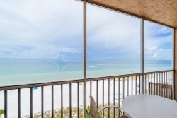 Beach Villas #703 | Enchanting Beach Views! Live the High Life from this Top Floor Beachfront Condo!