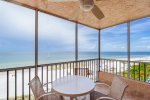 Estero Island Beach Villas 706 Fort Myers Beach Accommodations Florida FL Beachfront Condo Vacation Rental with Heated Pool BBQ Grills Screened Lanai 1-877-BEACH-IT