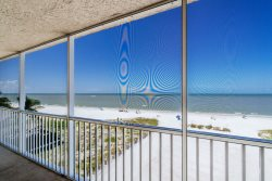 Gateway #496 | Beachfront Screened Lanai! North Island Condo with Pool! Walk to Times Square