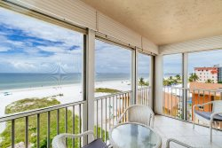 Gateway #499 | Cute Beachfront Estero Island Condo! Heated Pool, BBQ Area & 1/2 Mile to Times Square