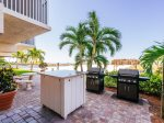 Gateway Villas 595 Fort Myers Beach Accommodations Florida FL Beachfront Condo Vacation Rental with Heated Pool BBQ Grills Screened Lanai 1-877-BEACH-IT
