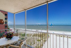 Gateway #595 | Right on the Beach! Lovely Condo with Picturesque Gulf Views from Screened Lanai!