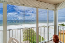 Gateway #598 | Fascinating Beach & Gulf Views From Screened Lanai, Located North Island