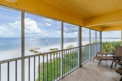Vacation Villas #633 | Top Floor View from Northernmost Point on Estero Island! Welcome to Paradise!