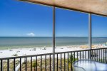 Estero Island Beach Villas 602 Fort Myers Beach Accommodations Florida FL Beachfront Condo Vacation Rental with Heated Pool BBQ Grills Screened Lanai 1-877-BEACH-IT
