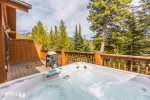 Brand new, outdoor, private hot tub