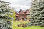 Main Living- Large sectional, wood burning fireplace, satellite TV