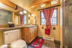 Upper Loft: Shared Full Bathroom