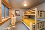 1st Bunk Room with 1 Twin over Full Bunk Bed Sleeps 3