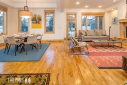 Town Center | Modern Townhome | Walking Distance to Ski Shuttle w/ Gas Fireplace