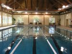 indoor pool at the Lakehouse fitness center daily charge applies