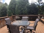 Large Raised Deck with Ample Seating