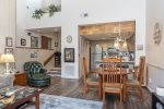 Kitchen fully equipped with appliances