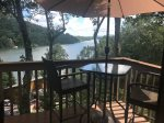 Great view of Lake Lure form the Deck