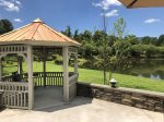 Gazebo with Lake View