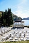 Our lake front gazebo is available for special events