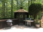 Enjoy the fire pit and gas grill