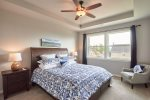 Comfortable King Bed in Master Suite on Main Level