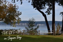 Enjoy the Holidays at The Cedars on Sequim Bay