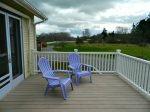 Outdoor furniture and deck