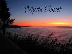 The Mystic Sunset House overlooking the Strait of Juan de Fuca