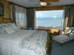 Upstairs bedroom with amazing water views