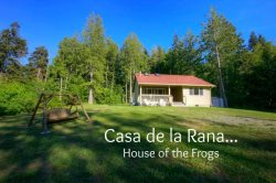 Peaceful getaway in the woods located between Sequim and Port Angeles with Sauna, Pet Friendly