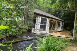 Gorgeous Apartment beside Indian Creek just west of Port Angeles