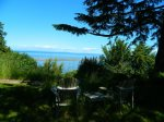 Beautiful views of water, Dungeness Spit and Mount Baker