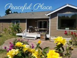 Brand New Listing!! Peaceful Place next to the Olympic Discovery Trail