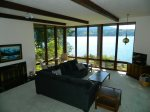 Stunning water views from living room