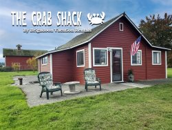 New! Beach access from the Original Crab Shack in Sequim