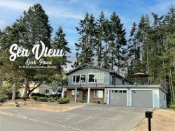 NEW! Sea View: Fantastic views from the huge deck!