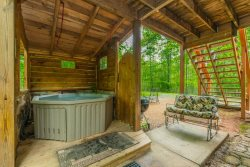 Creek Side Cottage | 1BR 1 BA | Pet Friendly | Hot Tub | Trout Fishing | 8 Miles from Helen, Ga