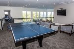 Game Room with Billiards, Ping Pong and Foosball