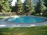Heated summer pool