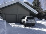 2 Car Garage in the Winter