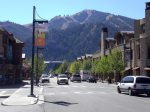 Main Street Ketchum in the Summer
