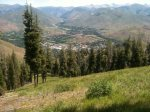 Ketchum Viewed from Bald Mountain