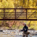 Fly Fishing at Lake Creek Bridge