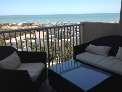 Luxury beachfront condo with great views from the 10th floor. Sleeps 6, 2 bedrooms, ( 1 king, 2 queens ) , 2 bathrooms. No pets allowed. Shared Pools,  CITY PERMIT # 2015-020125 NO ONE UNDER 35 IN MARCH