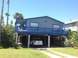 Vacation rental house. Sleeps 6, 2 bedrooms, ( 1 queen, 2 fulls ) 1 bathroom. Dogs allowed. Great for fishermen and windsurfers. NEW LOWER RATES CITY PERMIT # 2015-741684