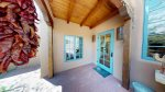 Private enclosed patio off the guest bedroom and front door of Cactus Casita