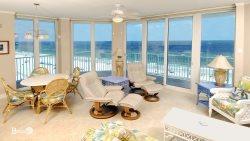 Luxury Condo ~ Endless Views ~ Large Beachfront Corner Unit