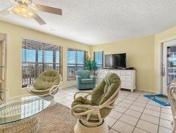 Colorful Coastal Decor ~ Beachfront Condo ~ Enjoy Balcony Swing ~