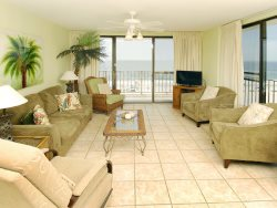 Beachfront View From Living Room and Bedrooms ~ Convenient Location