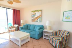 Colorful ~ Beach Front View From All Rooms ~ Comfortable Furnishings ~ Convenient Location