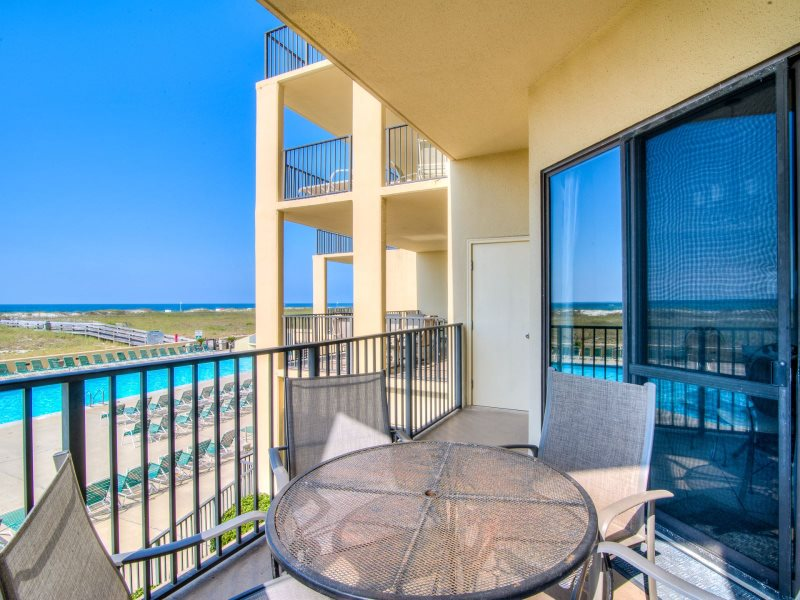 Unique Ground Floor Entrance Convenient Orange Beach Location Beachfront Nicely Furnished